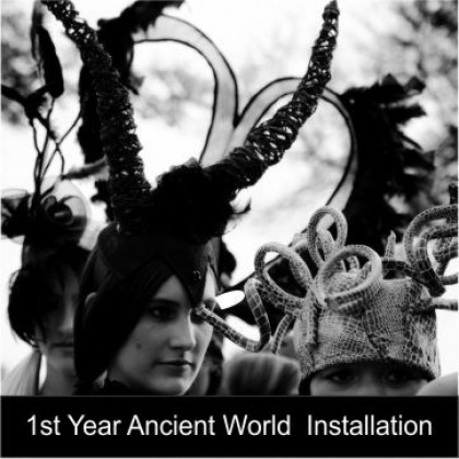 NWSD 1st Year's Ancient World Installation